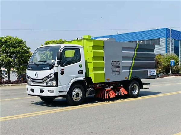 國六東風洗掃車價格 大型道路清掃車報價 中型道路洗掃車廠家直銷