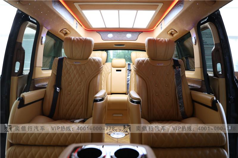 江西 南昌奔馳房車V級打造 2020新款V260房車9速4輪空懸底盤 新車報價
