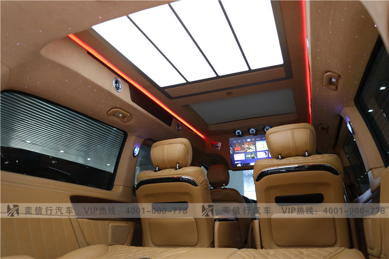 泉州 廈門 奔馳V260房車報價 最高直降20萬 高頂大空間 V級商務車改裝