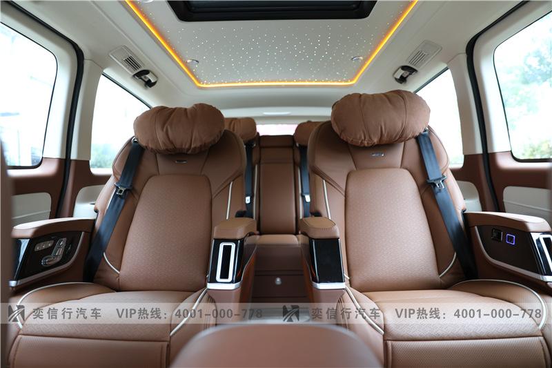 浙江 杭州 2020新款V級商務車底盤升級改裝 奔馳V260房車特別定制版報價圖片
