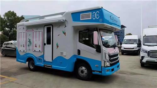 上汽跃进H300自动档冰淇淋房车