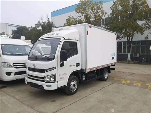 跃进福运S80国六柴油版小型冷藏车厂家价格多少钱一辆?
