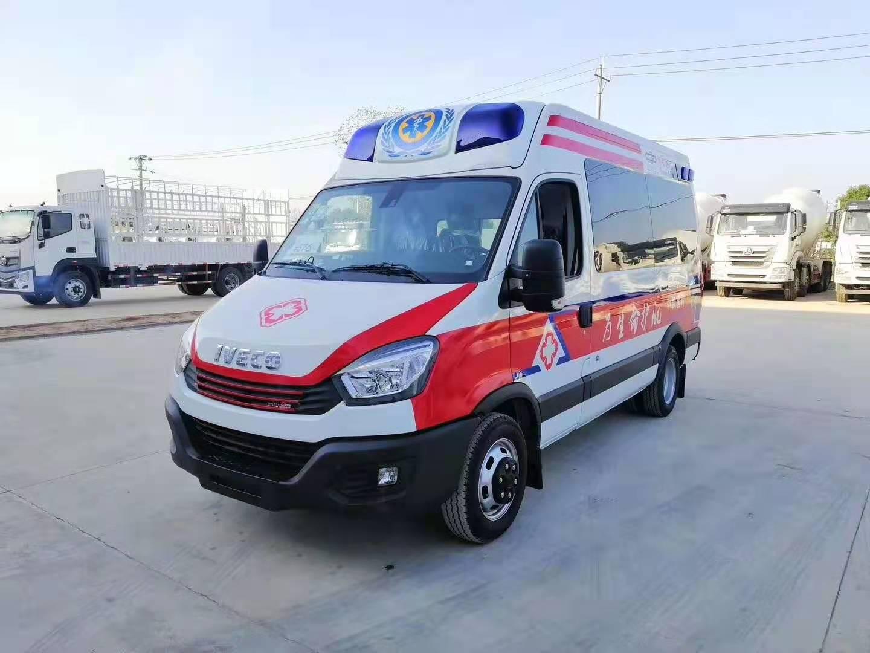 救护车现车销售 福特救护车厂家现车供应 程力救护车