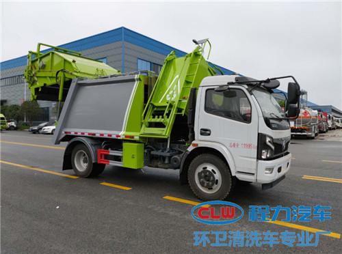 国六东风多利卡分捡压缩式垃圾车价格多少钱在哪买?
