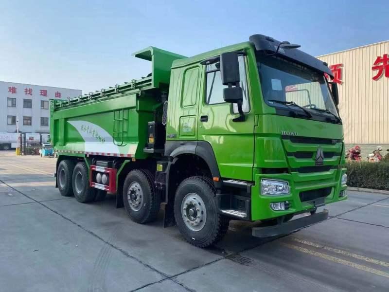 豪沃 440马力5.6米U型渣土车