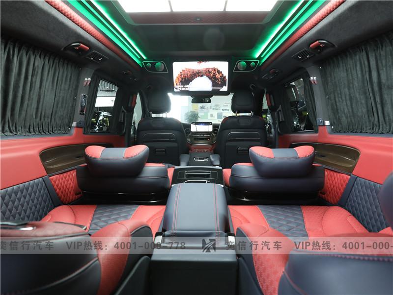 宁波 奔驰V260房车 7座改装商务车迈巴赫外观 房车工厂店直销报价