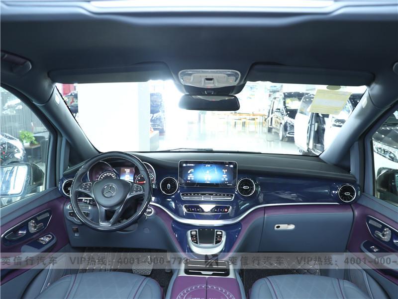 奔馳房車工廠直銷 V級商務車定制改裝 鉑馳維努斯 黑金雙拼報價