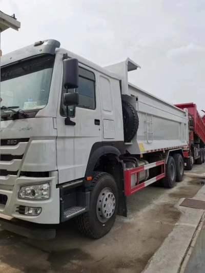 HOWO 7 自卸車380馬力豪沃6米渣土車