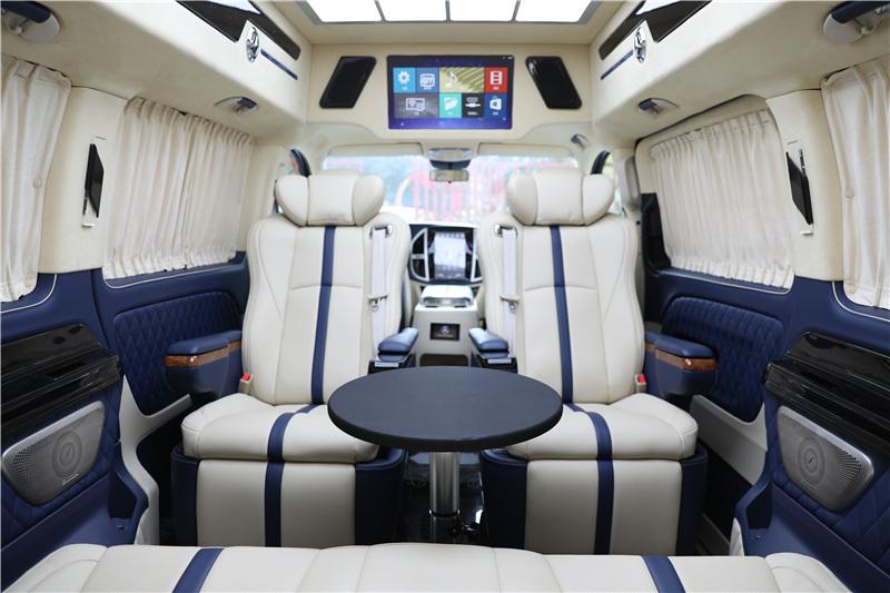 台州奔驰V260房车 迈巴赫外观 7座改装房车工厂店报价直降20万