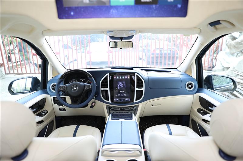 20款奔驰V级房车 9速4轮空悬底盘 改装工厂直营 价格优惠 85万起