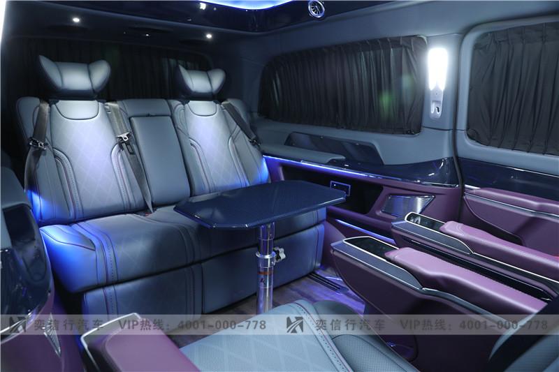 常州奔驰V级商务车升级 V260改装房车 工厂店直销报价 85万起售