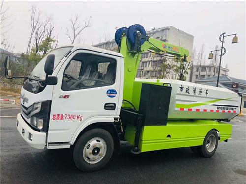 国六上京牌的东风多利卡D6市政清淤车