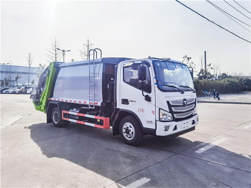 福田歐馬可8方壓縮式垃圾車配置價格