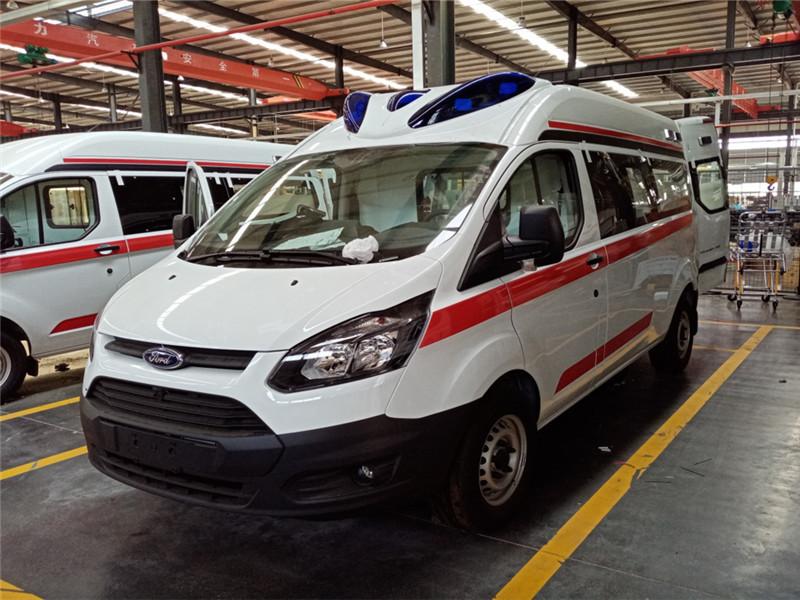救護車廠家 120救護車醫療急救車福特V362全國包送_救護車生產廠家