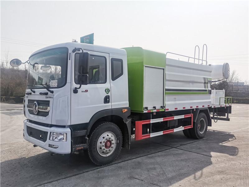 國六東風多利卡12方抑塵車城市消毒車可配30米至100米霧炮