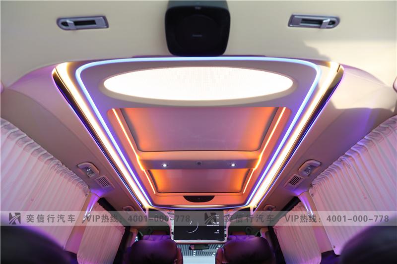 金华义乌 2020款奔驰V级改装房车多少价格 奔驰V260商务车改装工厂报价