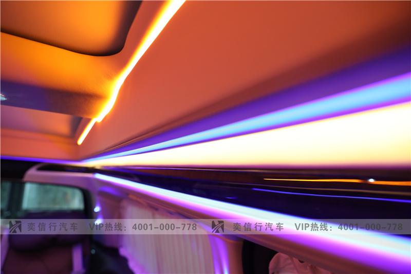 福州 奔驰V级房车 黑金双拼独家专属定制 V260改装商务车工厂报价