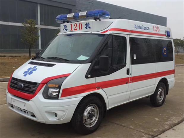 國六福特新世代V348短軸監護型救護車