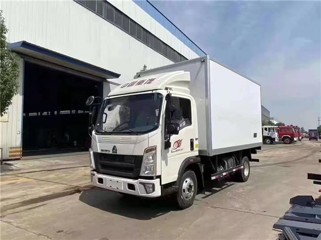 国六重汽豪沃冷藏车新品面市零首付购车