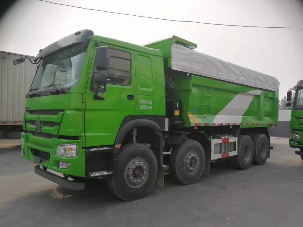 武汉绿豪沃 V7法规版5.8自卸车