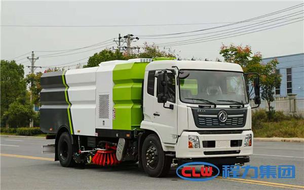东风9方洗扫车使用范围 大型洗扫车厂家报价大全 程力环卫车车间销售热线