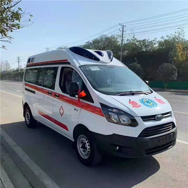 福特120急救车配置,国六V362新全顺救护车最新厂家优惠价格