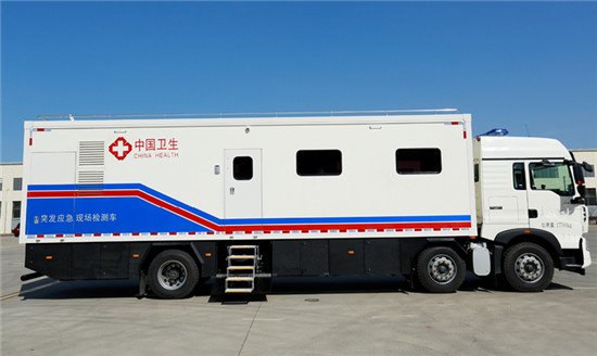 移动P2实验车_厢式移动方舱_客车P2+实验室