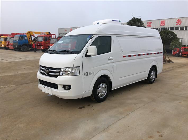 国六福田G7面包式冷藏车价格_图片_报价