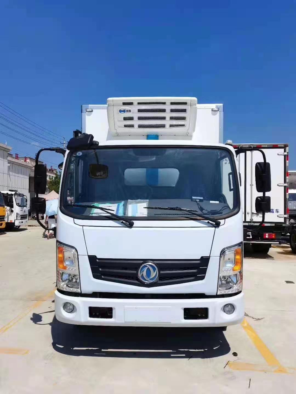 東風新能源插電式冷藏車