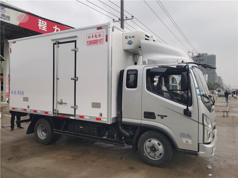 福田奥铃排半国六3米7冷藏车价格