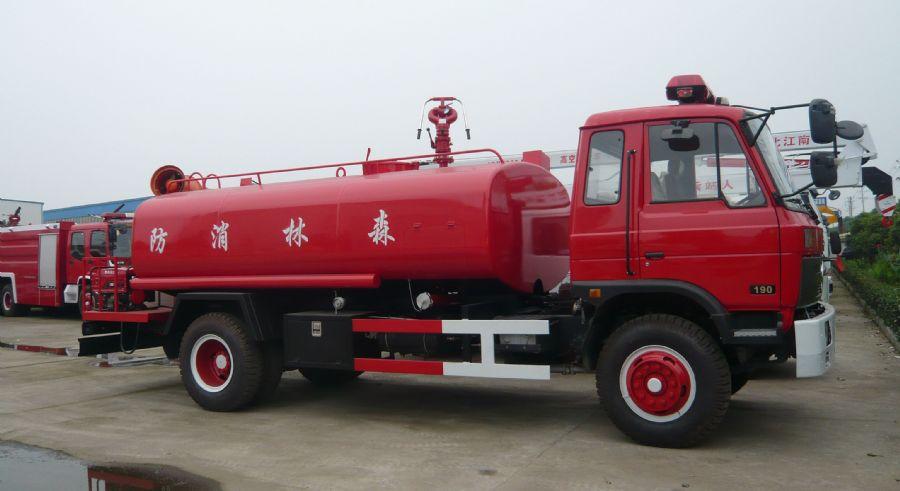 东风10吨消防洒水车