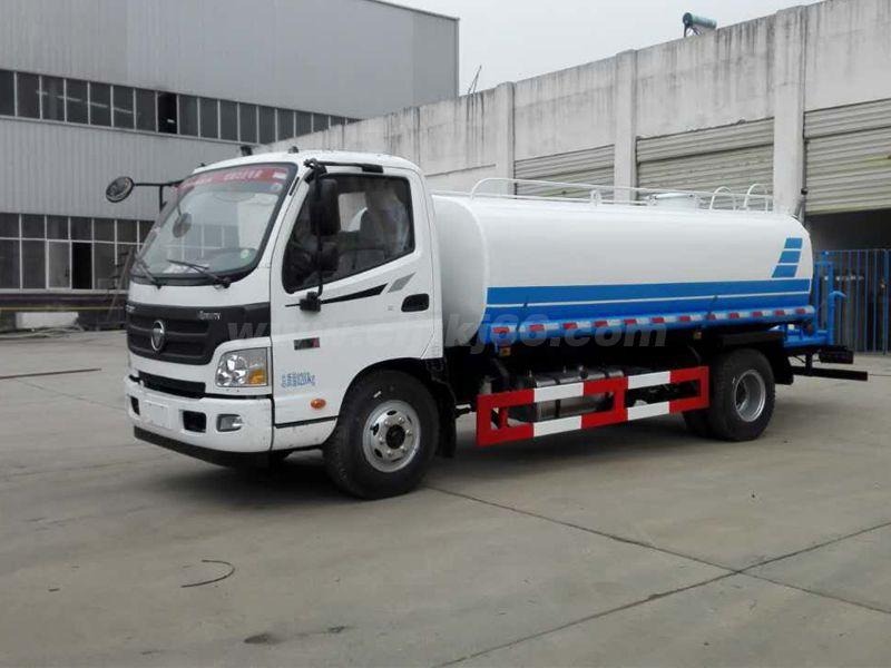 福田歐馬可8噸灑水車
