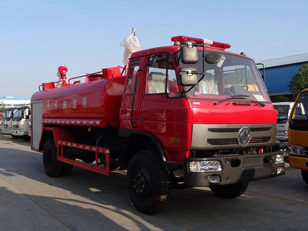 國五東風10噸消防灑水車