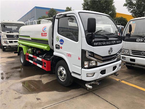 國六新款東風多利卡D6 5噸灑水車