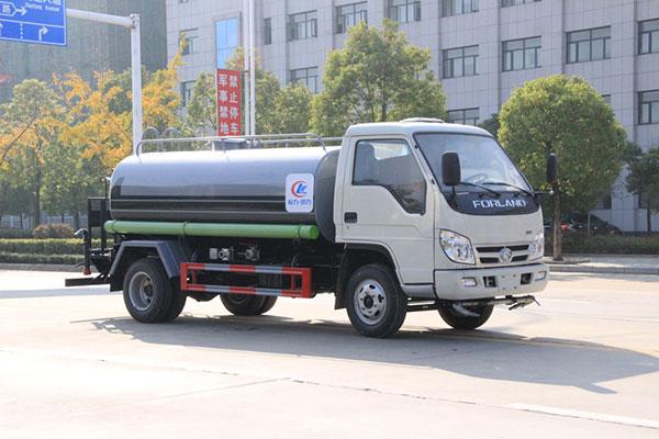 福田5噸灑水車(不上戶車型)