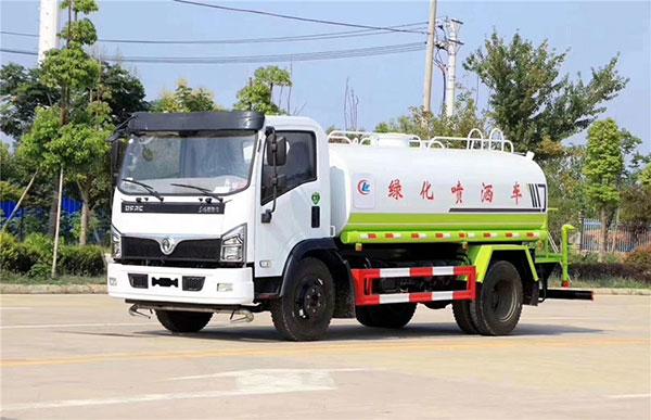 國六東風福瑞卡9.5噸灑水車