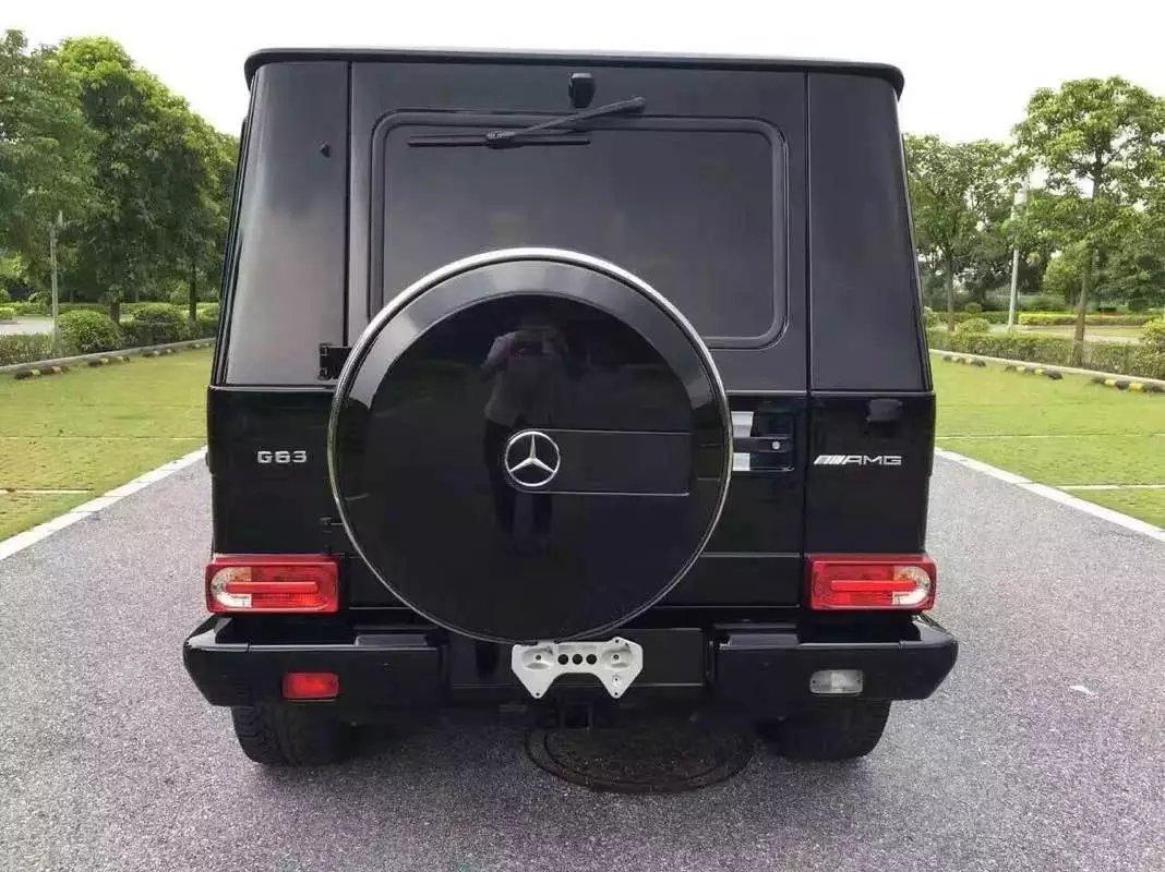 【克拉玛依】14奔驰G63AMG版 价格90.00万 二手车