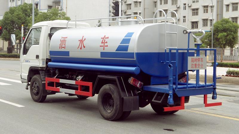 菏泽江淮帅铃6方洒水车二手车