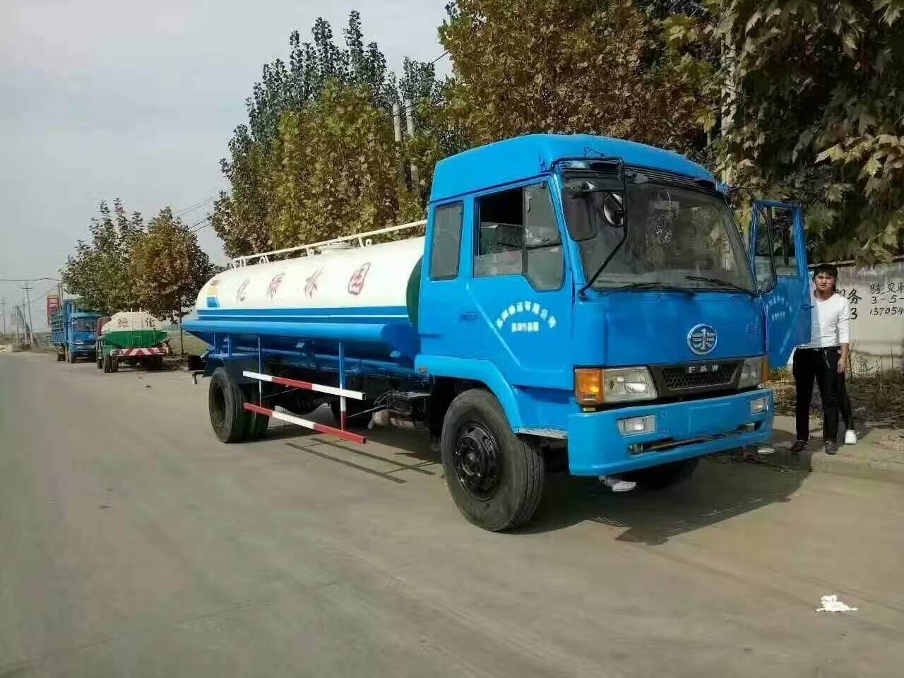 济宁环卫厂家:二手洒水、吸粪车,欢迎致电咨询、二手车