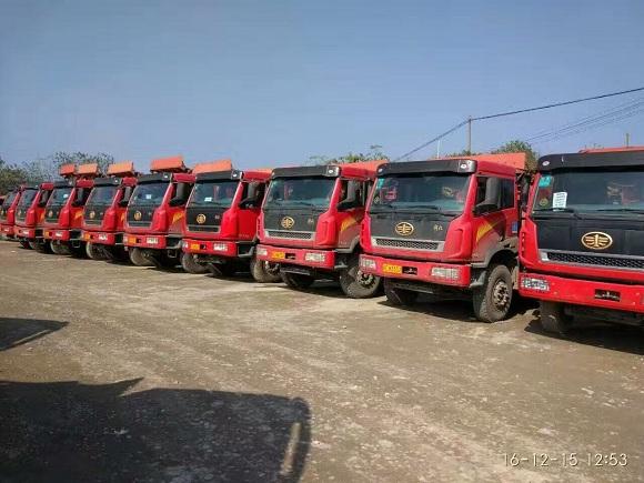 解放后八轮|新大威自卸车|解放新大威工程车
