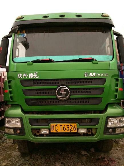 德龙m3000自卸车|陕汽德龙后八轮自卸车