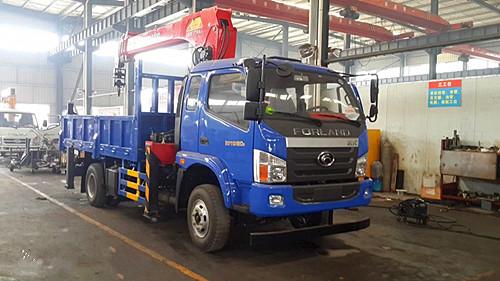 【随州】福田时代三一7吨随车吊厂家直销 价格22.30万 二手车