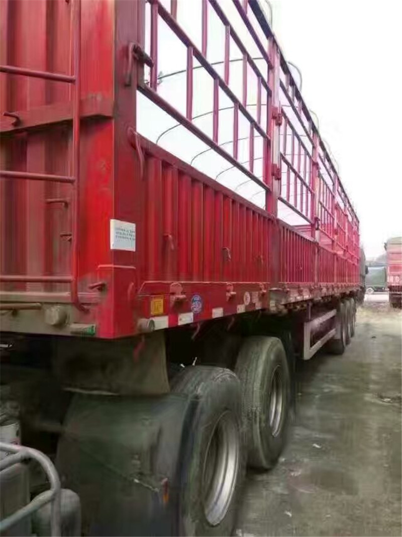 东风天龙启航版仓栏半挂二手车