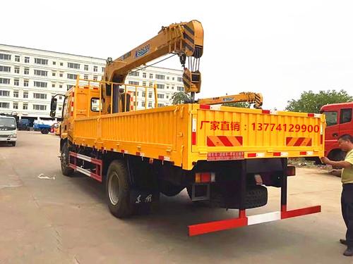 【随州】国五东风柳汽徐工8吨随车吊 价格21.80万 二手车