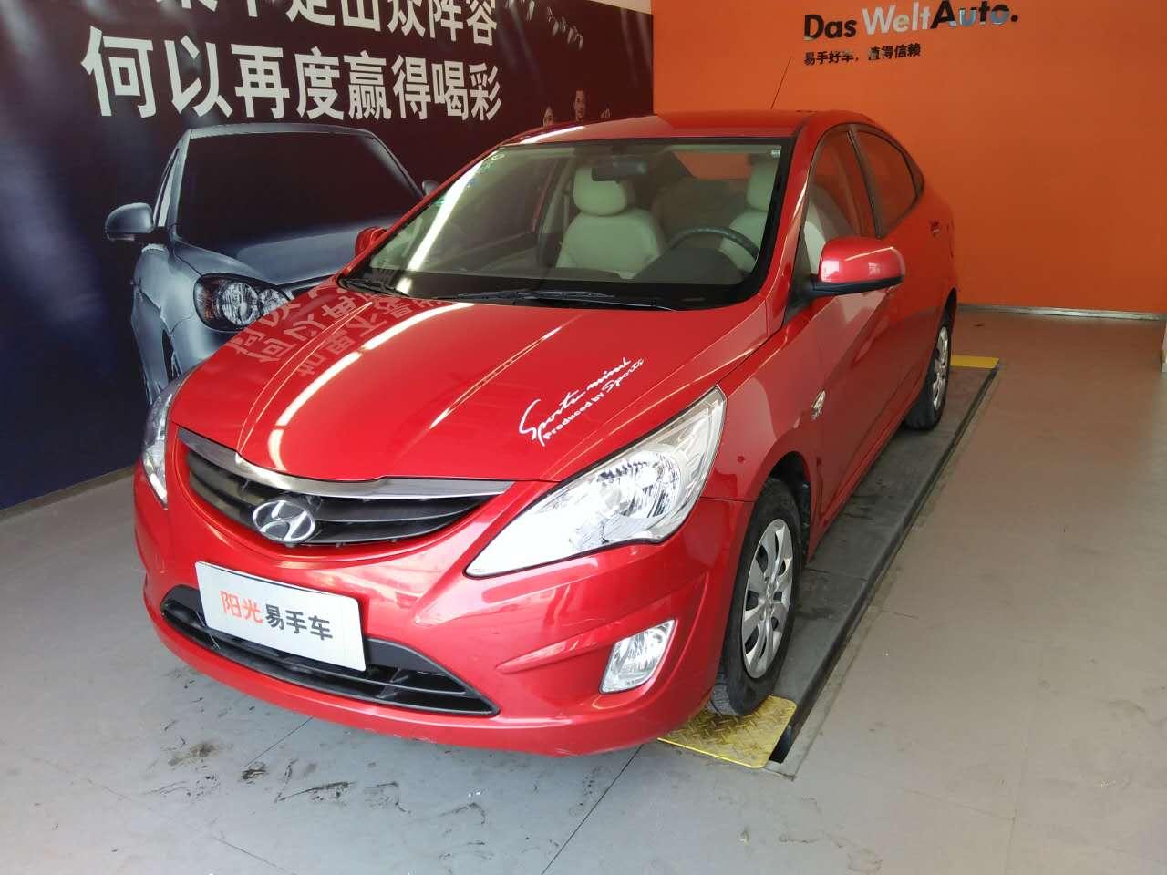 淄博现代 瑞纳 1.4L自动标准型GL二手车