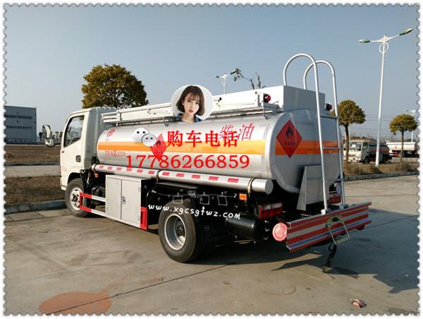 东风多利卡国五5吨加油车价格二手车