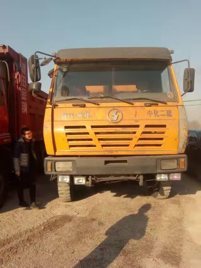 忻州出售陕汽奥龙后八轮自卸车二手车