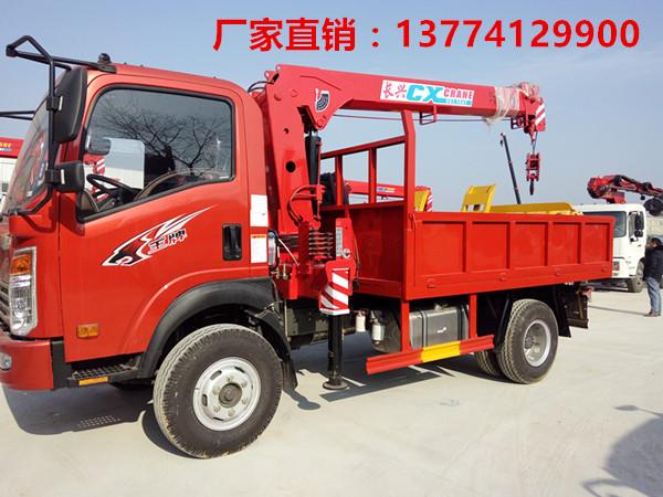 【随州】小型王牌蓝牌国五3.2吨随车吊厂家批发价促销 价格15.60万 二手车