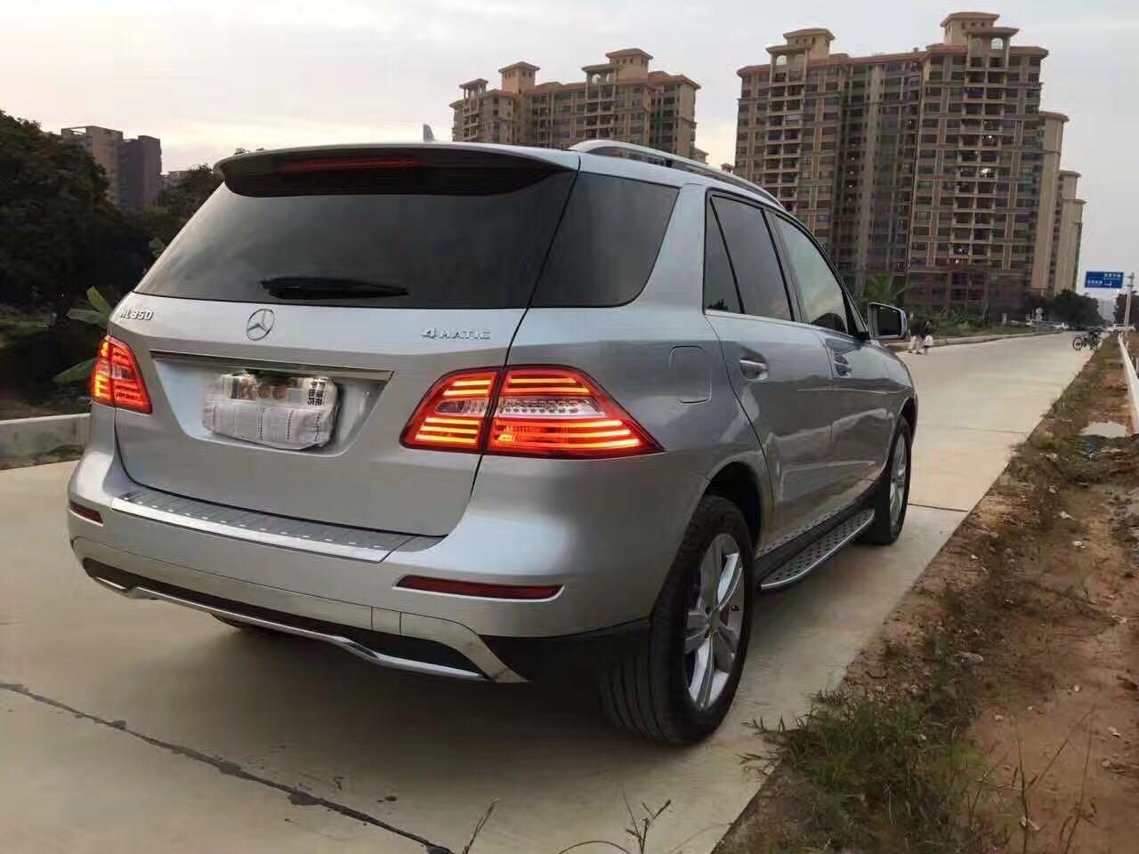 【深圳】2014奔驰ML350 银色  价格45.00万 二手车