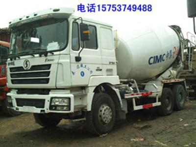 广安出售大12立方德龙混凝土搅拌罐车二手车